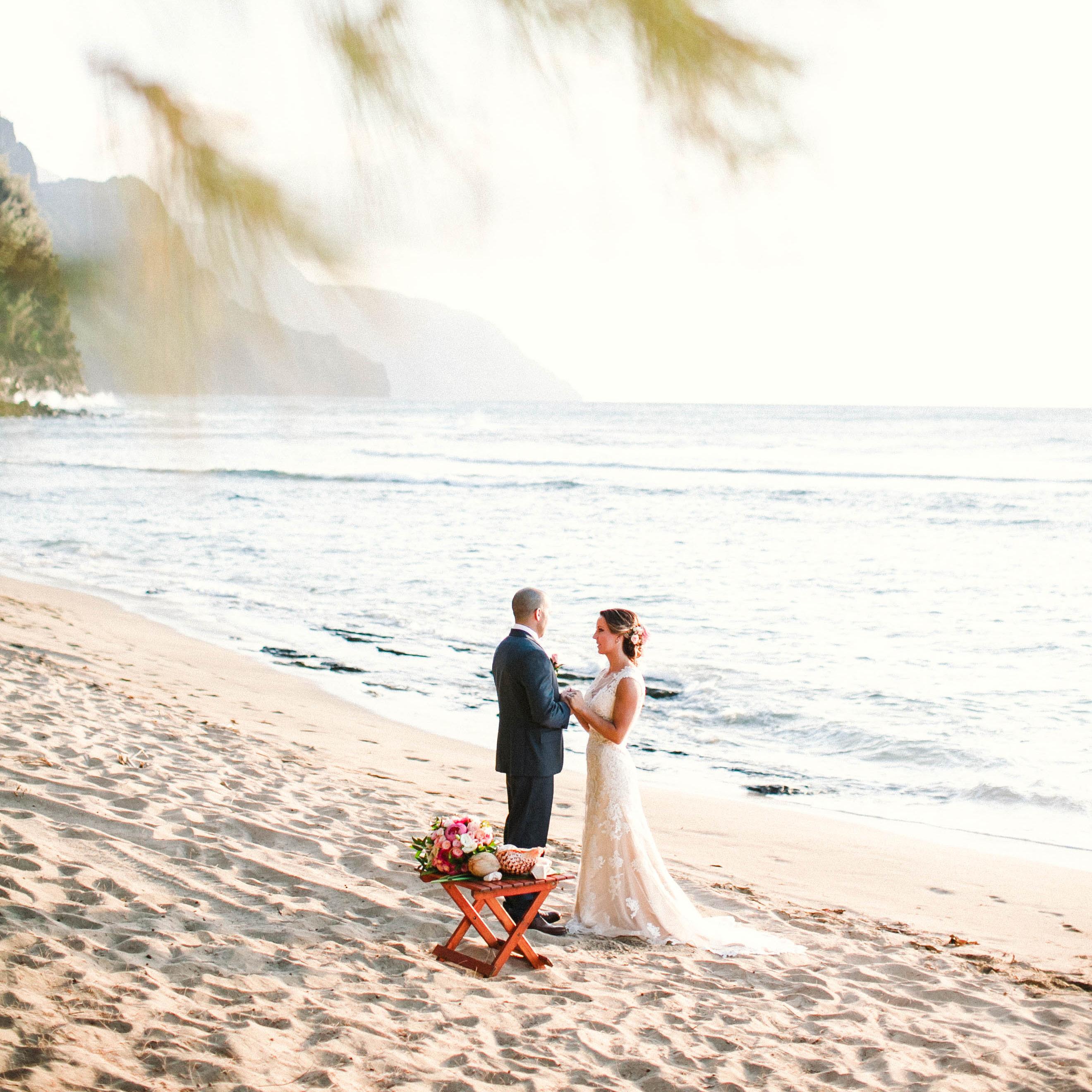 Kellen Amy Ke E Beach Kauai
